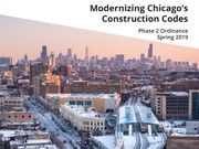 2019 Chicago Construction Codes