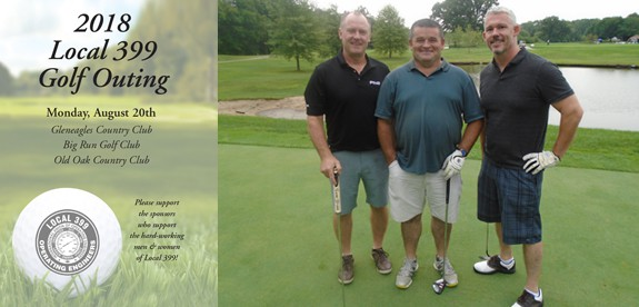 Local 399 Golf Outing