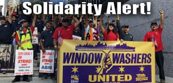 STAND WITH OUR UNION FAMILY!